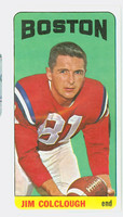 1965 Topps Football 6 Jim Colclough Boston Patriots Near-Mint