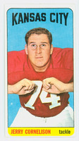 1965 Topps Football 98 Jerry Cornelison Kansas City Chiefs Excellent to Excellent Plus