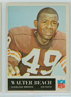 1965 Philadelphia 30 Walter Beach Cleveland Browns Excellent to Mint