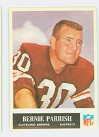 1965 Philadelphia 37 Bernie Parrish Cleveland Browns Excellent
