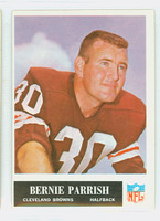 1965 Philadelphia 37 Bernie Parrish Cleveland Browns Excellent to Excellent Plus