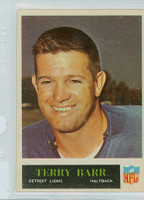 1965 Philadelphia 58 Terry Barr Detroit Lions Excellent to Mint