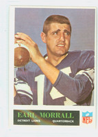 1965 Philadelphia 65 Earl Morrall Detroit Lions Excellent to Excellent Plus