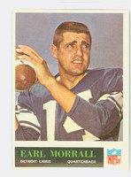 1965 Philadelphia 65 Earl Morrall Detroit Lions Excellent to Mint