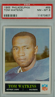 1965 Philadelphia 69 Tom Watkins Detroit Lions PSA 8 Near Mint to Mint