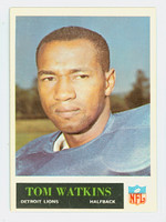1965 Philadelphia 69 Tom Watkins Detroit Lions Excellent to Excellent Plus