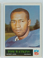 1965 Philadelphia 69 Tom Watkins Detroit Lions Excellent to Mint