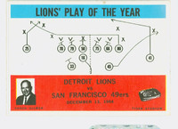1965 Philadelphia 70 Lions Play Excellent