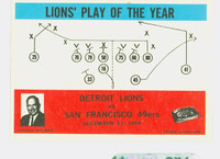 1965 Philadelphia 70 Lions Play Excellent to Excellent Plus