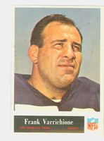 1965 Philadelphia 96 Frank Varrichione Los Angeles Rams Excellent