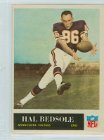 1965 Philadelphia 101 Hal Bedsole ROOKIE Minnesota Vikings Excellent to Mint