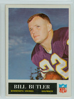 1965 Philadelphia 103 Bill Butler Minnesota Vikings Excellent to Mint