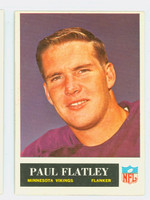 1965 Philadelphia 106 Paul Flatley Minnesota Vikings Excellent to Excellent Plus