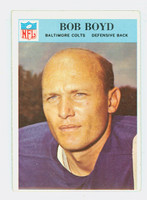 1966 Philadelphia 16 Bob Boyd Baltimore Colts Excellent
