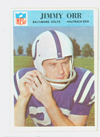 1966 Philadelphia 22 Jimmy Orr Baltimore Colts Excellent to Excellent Plus