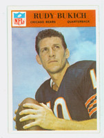1966 Philadelphia 29 Rudy Bukich Chicago Bears Excellent