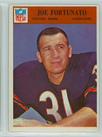 1966 Philadelphia 33 Joe Fortunato Chicago Bears Excellent to Mint