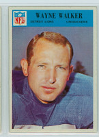 1966 Philadelphia 76 Wayne Walker Detroit Lions Excellent to Mint