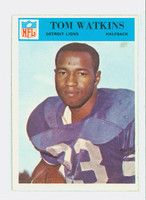 1966 Philadelphia 77 Tom Watkins Detroit Lions Near-Mint