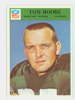 1966 Philadelphia 86 Tom Moore Green Bay Packers Excellent to Excellent Plus