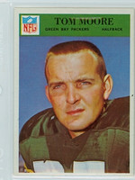 1966 Philadelphia 86 Tom Moore Green Bay Packers Excellent to Mint