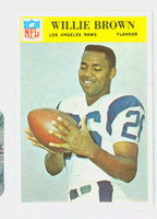 1966 Philadelphia 93 Willie Brown Green Bay Packers Excellent to Excellent Plus