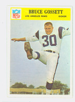 1966 Philadelphia 95 Bruce Gossett Los Angeles Rams Near-Mint