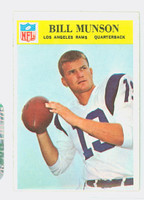 1966 Philadelphia 101 Bill Munson Los Angeles Rams Excellent
