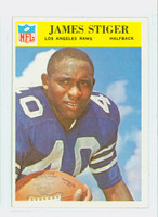 1966 Philadelphia 103 James Stiger Los Angeles Rams Excellent