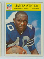 1966 Philadelphia 103 James Stiger Los Angeles Rams Excellent to Mint