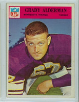 1966 Philadelphia 106 Grady Alderman Minnesota Vikings Excellent to Mint