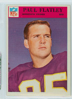 1966 Philadelphia 109 Paul Flatley Minnesota Vikings Excellent to Mint