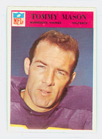 1966 Philadelphia 111 Tommy Mason Minnesota Vikings Excellent
