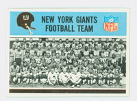 1966 Philadelphia 118 Giants Team Excellent to Mint