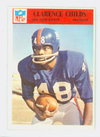 1966 Philadelphia 121 Clarence Childs New York Giants Excellent