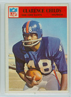 1966 Philadelphia 121 Clarence Childs New York Giants Excellent to Mint