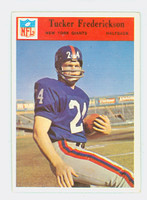 1966 Philadelphia 122 Tucker Fredrickson New York Giants Excellent to Mint