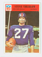 1966 Philadelphia 129 Steve Thurlow New York Giants Excellent to Excellent Plus