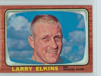 1966 Topps Football 53 Larry Elkins Houston Oilers Excellent to Excellent Plus