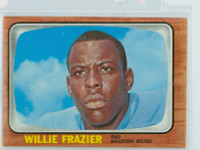 1966 Topps Football 55 Willie Frazier Houston Oilers Excellent to Mint