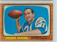 1966 Topps Football 125 John Hadl San Diego Chargers Excellent