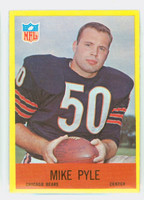1967 Philadelphia 34 Mike Pyle Chicago Bears Excellent