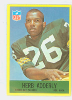 1967 Philadelphia 74 Herb Adderley Green Bay Packers Excellent to Mint