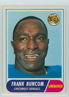 1968 Topps Football 18 Frank Buncom Cincinnati Bengals Excellent to Excellent Plus