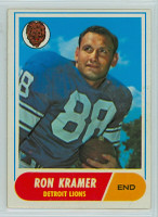 1968 Topps Football 51 Ron Kramer Detroit Lions Excellent to Excellent Plus