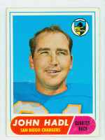 1968 Topps Football 63 John Hadl San Diego Chargers Very Good to Excellent