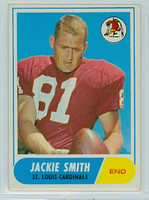 1968 Topps Football 86 Jackie Smith St. Louis Cardinals Very Good to Excellent