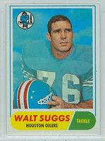 1968 Topps Football 94 Walt Suggs Houston Oilers Excellent to Mint