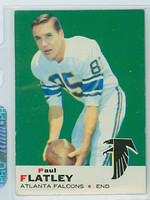 1969 Topps Football 2 Paul Flatley Atlanta Falcons Excellent to Mint