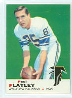 1969 Topps Football 2 Paul Flatley Atlanta Falcons Near-Mint